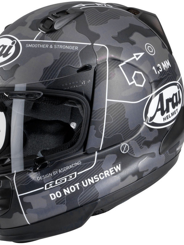 Arai Rebel Integraalhelm Command Zwart