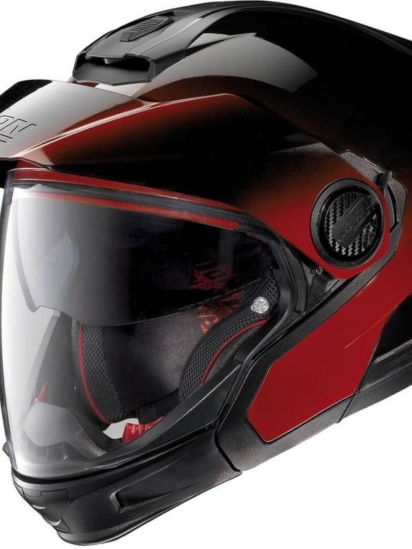 N40.5 GT Classic N-Com Jethelm Fade Cherry