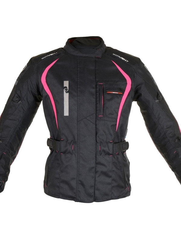 Oxford Dakota Dames Jas Zwart/Roze
