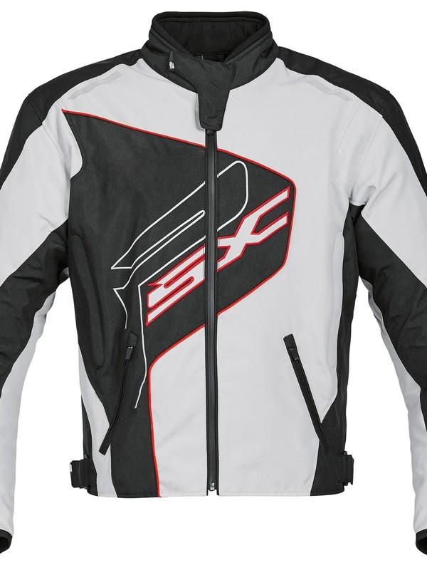 PSX Track Sheltex Blouson Grijs/Zwart/Rood