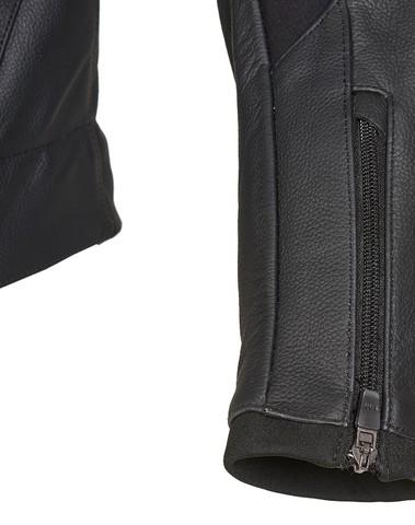 PSX Shifter Combi Lederen Jas Zwart/Wit