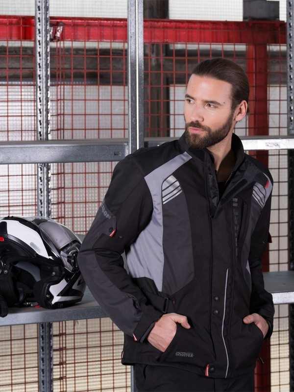 Bullson City Rider Sheltex Jas Zwart/Grijs