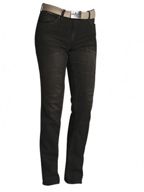 Richa Axelle Damens Jeans Zwart