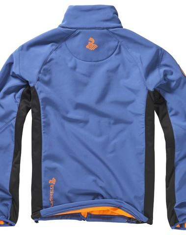 Tuareg Tadmait Softshell Jas Blauw/Zwart