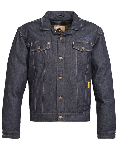 Speedware Coventry Cordura Denim Jeansjas Blauw