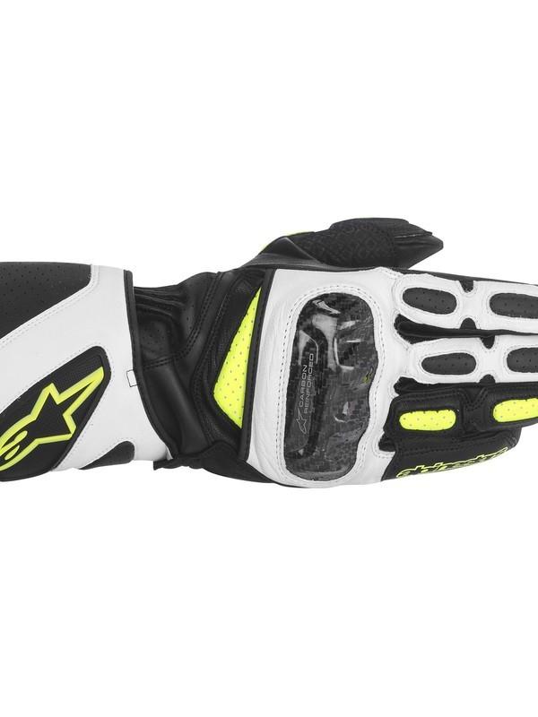 Alpinestars SP-2 Handschoen Zwart/Wit/Fluo