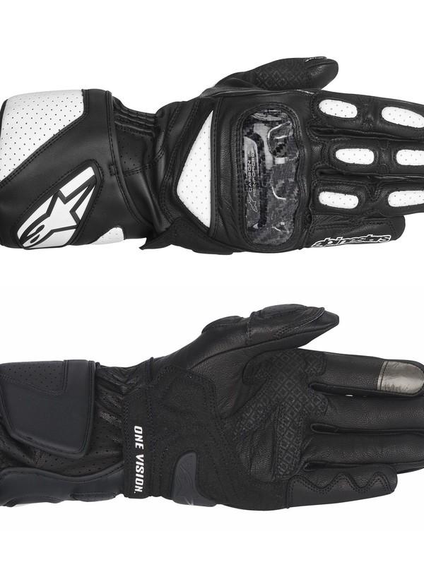 Alpinestars SP-2 Handschoen Zwart/Wit