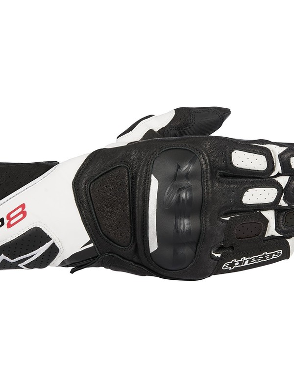 Alpinestars SP-8 V2 Handschoen Zwart/Wit