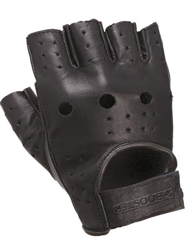 Booster Handschoen Custom Zonder Vingers Zwart