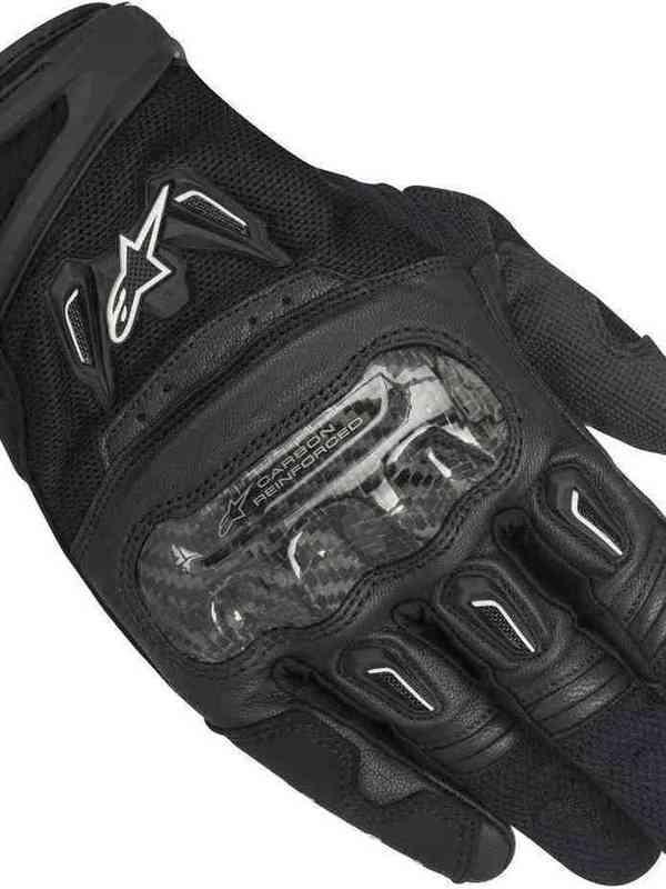 Alpinestars SMX-2 Air Carbon V2 Handschoen Zwart
