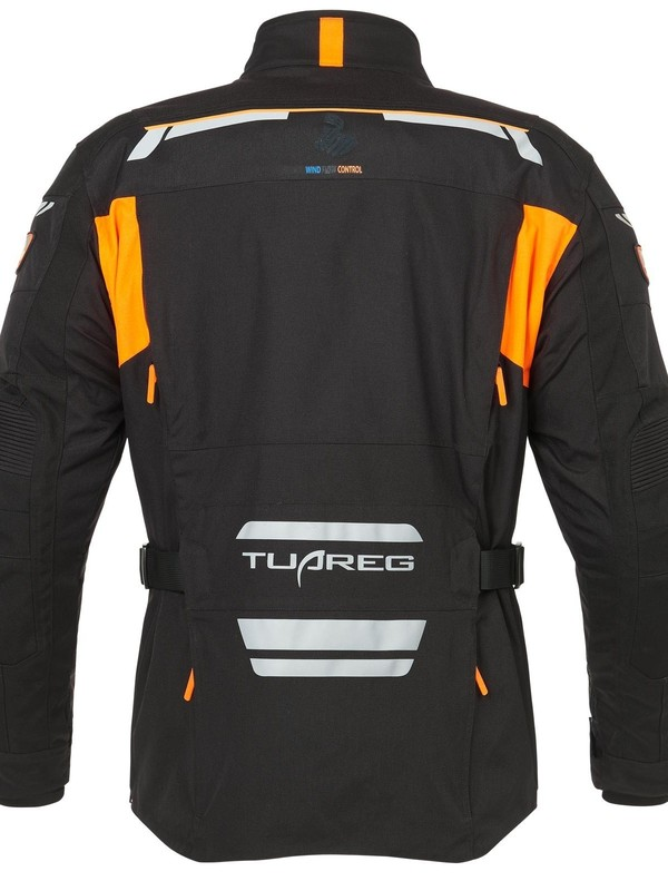 Tuareg Tanami Sympatex 3 in 1 jas zwart